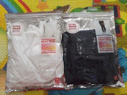 Celana Uniqlo dan tops heattech