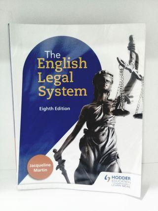 Cambridge A-Level Law Textbook (English Legal System)