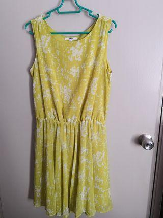 Uniqlo Yellow Dress #MGAG101