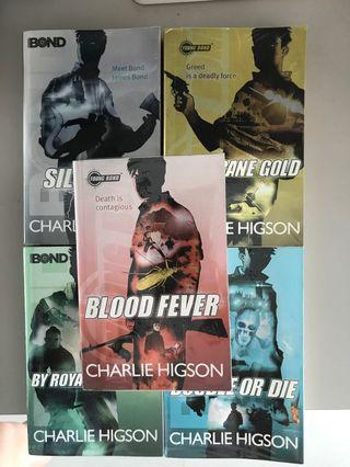 Charlie Higson Young Bond Silver Fin
