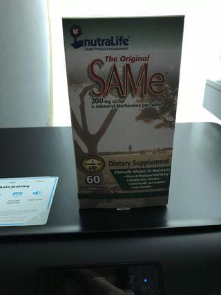 Sam- E 200 mg (60 tablets) expire2021