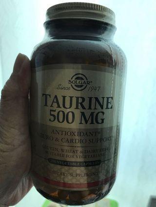 Taurine 500 mg (expire10/2021)