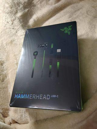 ✨Type-C✨RAZER雷蛇耳機-戰鎚狂鯊✨(Razer HAMMERHEAD USB-C)
