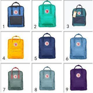 Kanken big size backpack