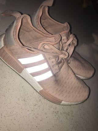 Adidas NMD SIZE 10 1/2  rose gold