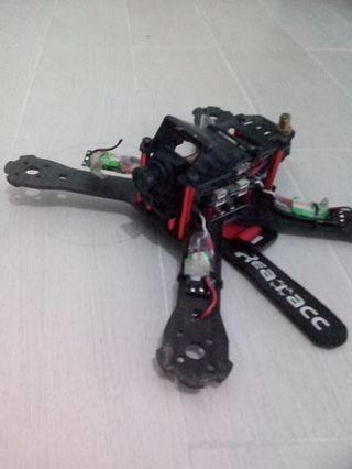 Selling a used quadcopter carbon frame