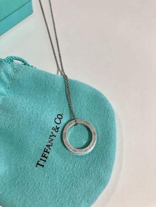Tiffany & Co. 1873 Circle Pendant Necklace