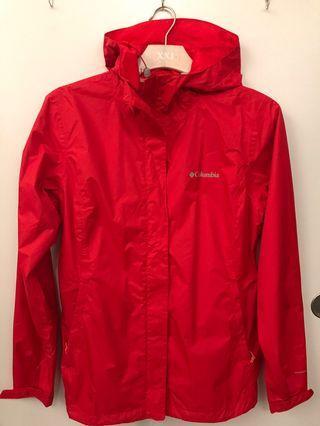 Columbia Rain shell jacket NWT
