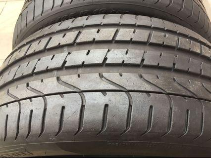 245 35 19 Pirelli p zero (not run flat)  import use tyre X2