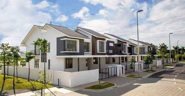 Freehold 2 stry terrace house (rebat 15%)
