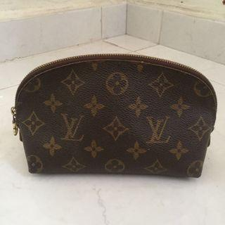 Louis Vuitton Cosmetic Case Pouch PM in Canvas Monogram