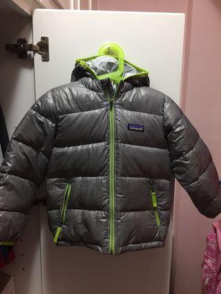 Patagonia boy kids down jacket 羽絨外套