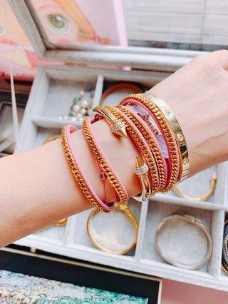 「專櫃購入」Vita Fede 經典滿鑽手環