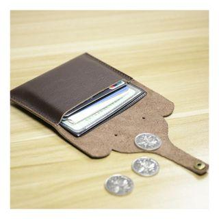 🚚 Free Delivery 🚚 10x7x0.5cm Cute Genuine Leather Coin and Car Holder