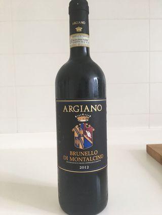 Red Wine - Brunello Di Montalcino Argiano 2012