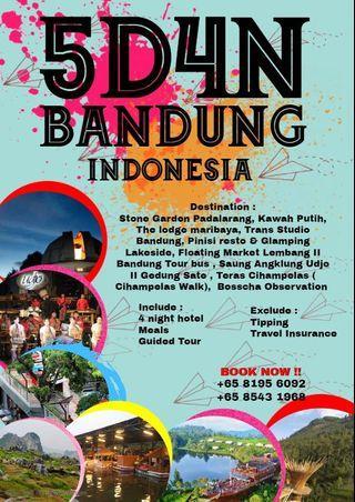 🚚 5 day 4 night Bandung