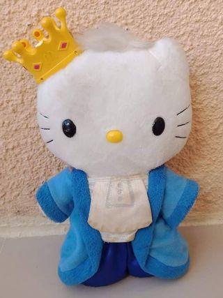 Dear Daniel Stuff Toy w/ crown Hello Kitty