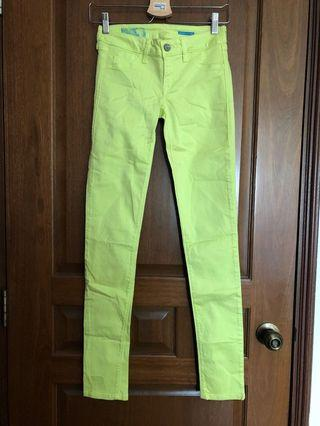 Fade To Blue Lime Green Pants