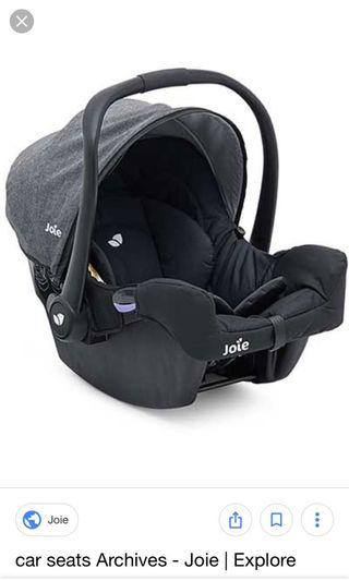 🚚 Joie baby car seat
