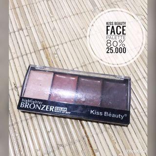 Kiss Beauty Face Palette