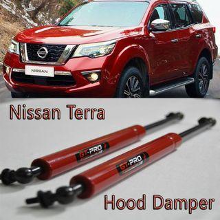 Hood Damper GT-Pro RED for Nissan TERRA 2018-2019 Hood Damper Bonnet Shock Kit