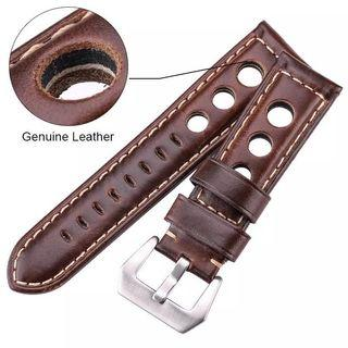 🚚 BN Leather Racing Strap 22mm