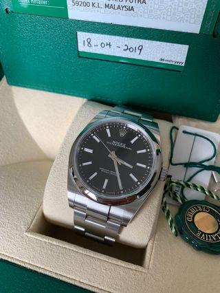 ROLEX Oyster Perpetual 39mm Black