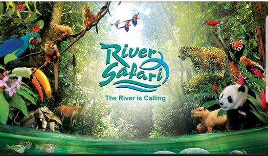 River safari open date ticket