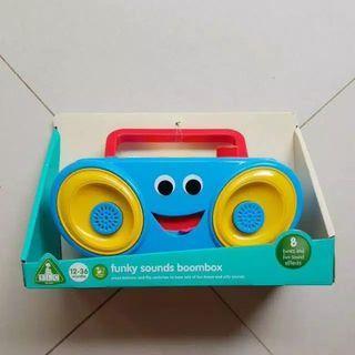 Mainan anak, elc, radio, boombox