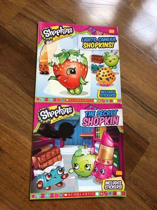 Story books - Assorted Shopkins titles