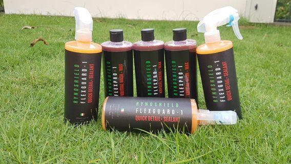 Rynoshield italy car wash soap and quick detailer