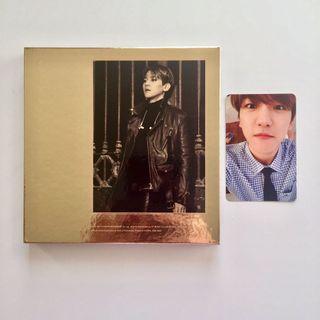 EXO Exodus Baekhyun Album with Official Baekhyun Photocard