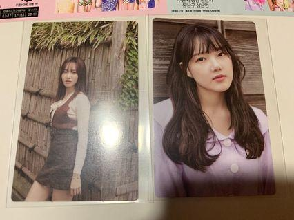 WTT Gfriend the first photobook pc