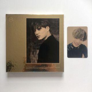 EXO Exodus Kai Jongin Album with Official Kai Photocard