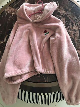 Forever 21 pink hoodie