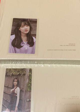 Gfriend The 1st Photobook photocard