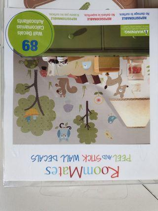 🚚 Kids room wall decals stickers