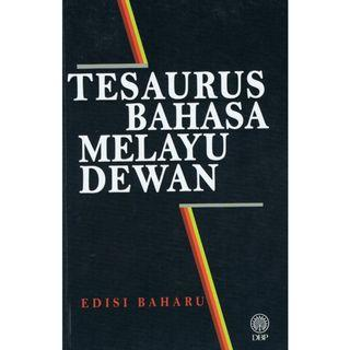 Tesaurus Bahasa Melayu Dewan Edisi Baharu