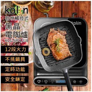 Kolin 歌林觸控式黑晶電陶爐KCS-MN1218