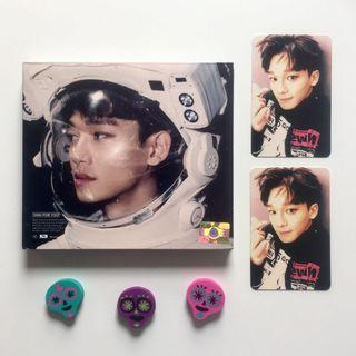 EXO Sing For You Album with Chen Kim Jongdae Official Korean AND Chinese Version Photocards