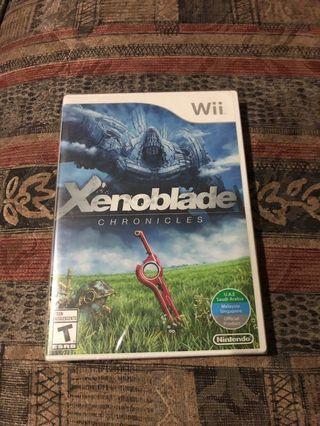 Sealed Xenoblade Chronicles Wii
