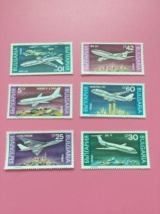 保加利亞郵票-B01-1990