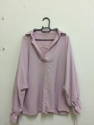 Pink Baggy Top