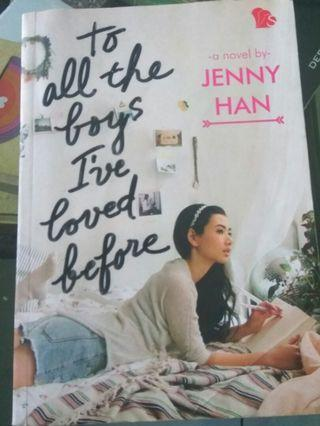 Novel To All The Boys I've Loved Before by Jenny Han (Bahasa)