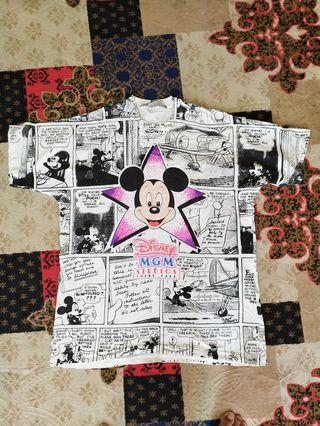 Mickey Mouse fullprint made in usa