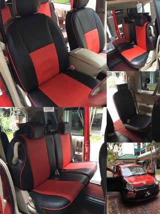 Sienta leather seat cover (customise)