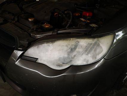 Subaru legacy BL9 headlight restore