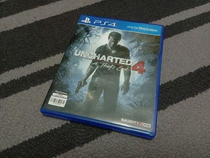PS4 UNCHARTED 4 (ALL)
