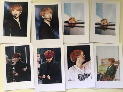 EXO BAEKHYUN Custom Polaroid