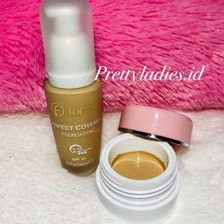 Flormar Perfect Coverage Liquid Foundation SPF 15++ Share in jar